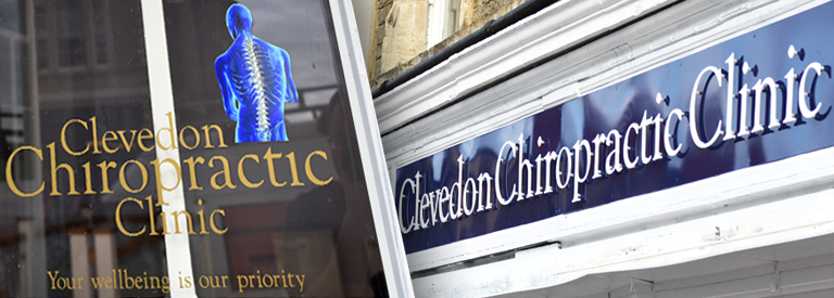 Clevedon Chiropractic Clinic front